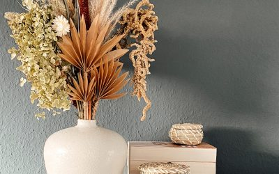 Easy DIY – Dried Paper Palm Leaf